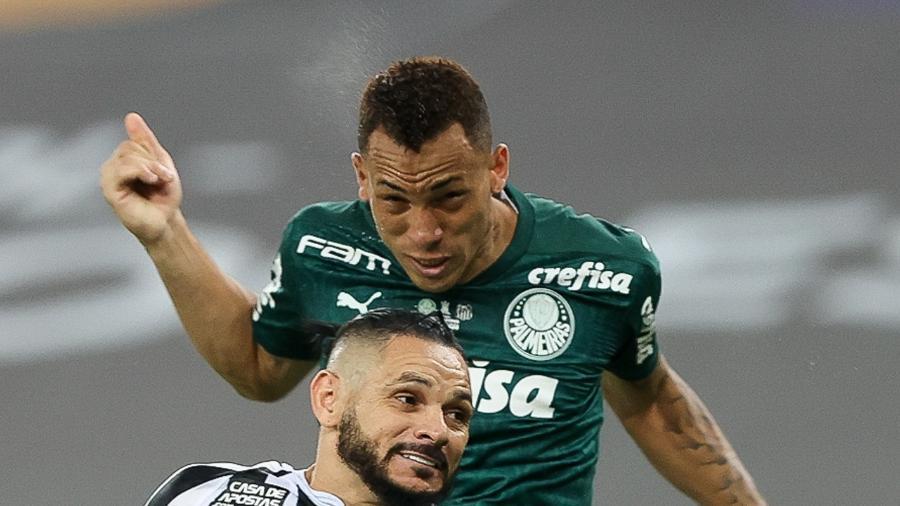 O momento do gol de Breno Lopes, que deu o título da Libertadores para o Palmeiras - Cesar Greco/Palmeiras