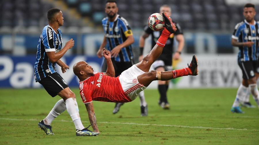 Patrick ainda não recuperou o rendimento da temporada passada pelo Inter - Ricardo Duarte/Inter