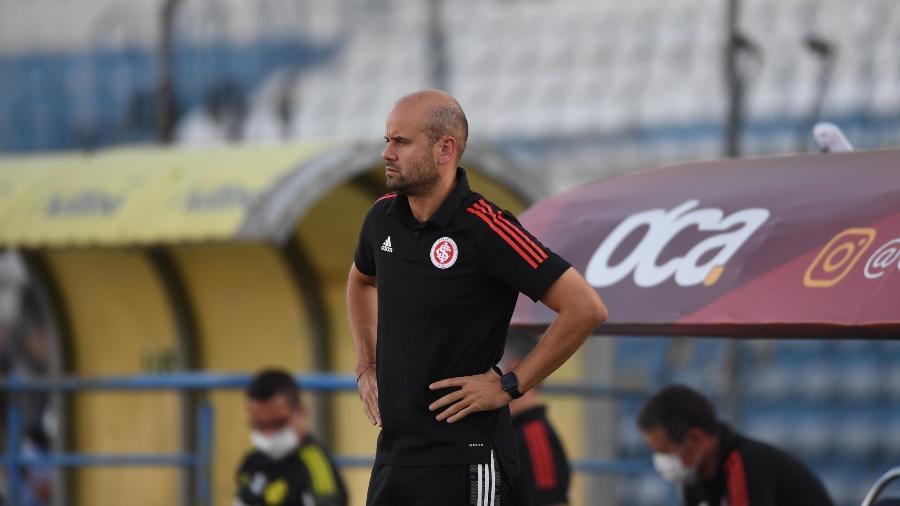 Miguel Ángel Ramírez, técnico do Internacional, diz contar com Paolo Guerrero - Ricardo Duarte/Internacional