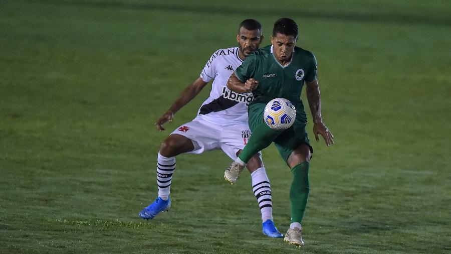 Vasco venceu o Boavista por 1 a 0, em Bacaxá (RJ), pelo jogo de ida. Agora, terá a vantagem do empate - Thiago Ribeiro/AGIF