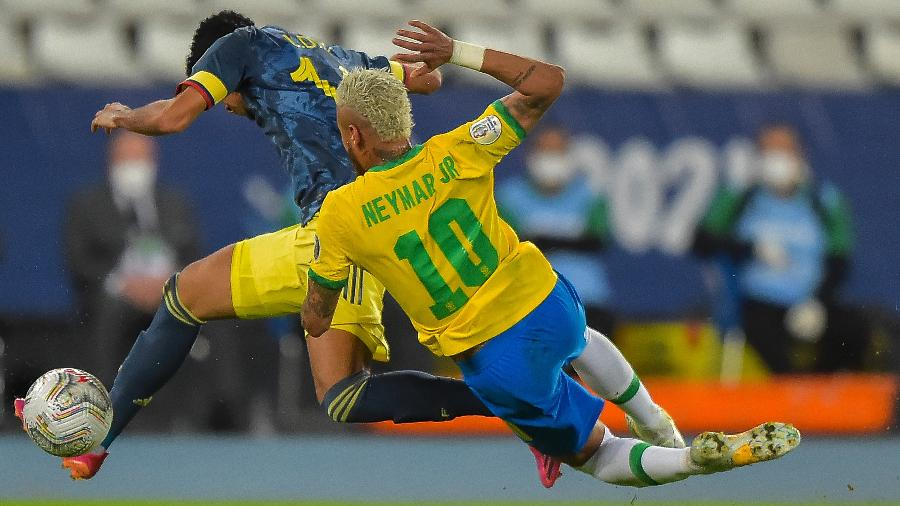Marcação da Colômbia impactou o técnico Óscar Tabárez, da Colômbia - Thiago Ribeiro/AGIF