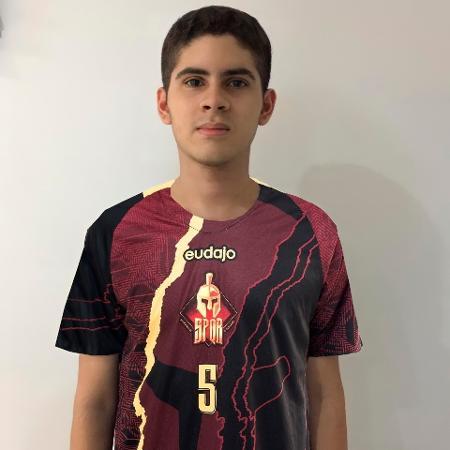 Diego Arruda, jogador de Fifa da SPQR - Divulgação/SPQR
