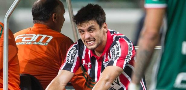 Rodrigo Caio negocia a renovação do seu contrato - Eduardo Knapp/Folhapress