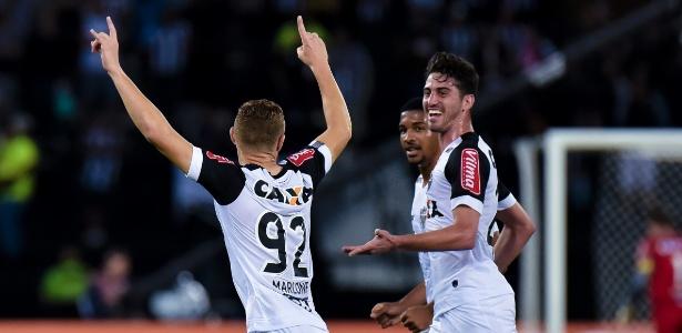 O Atlético-MG, de Marlone, conquistou 11 dos últimos 15 pontos que disputou