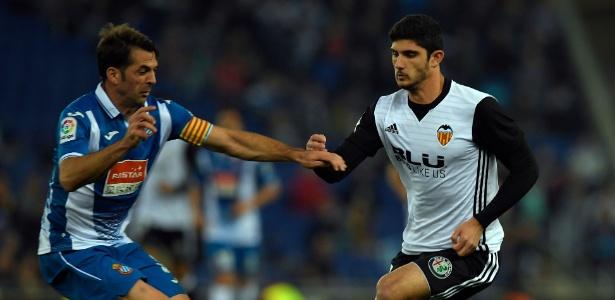 Gonçalo Guedes atou pelo Valencia na temporada passada emprestado pelo PSG