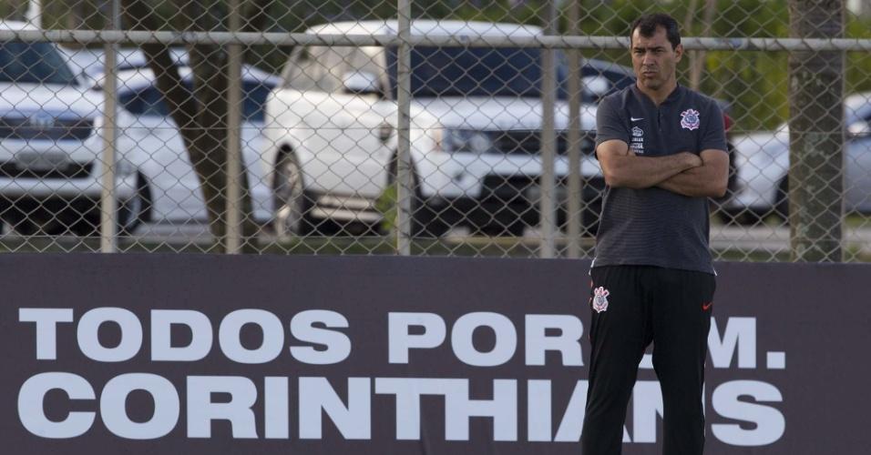 Proposta de time da Arábia | Oferta milionária deixa Carille próximo de saída do Corinthians