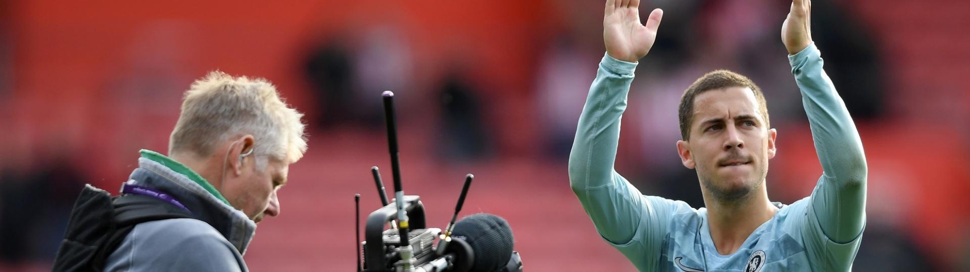 Hazard é um dos principais responsáveis pela campanha do Chelsea na Premier League