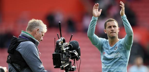 Hazard é um dos principais responsáveis pela campanha do Chelsea na Premier League - Mike Hewitt/Getty Images