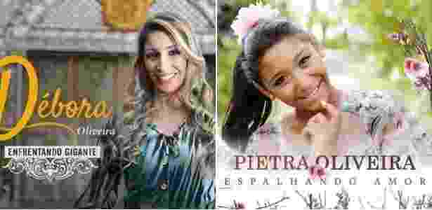 Debora e Pietra - Reprodução/Instagram - Reprodução/Instagram