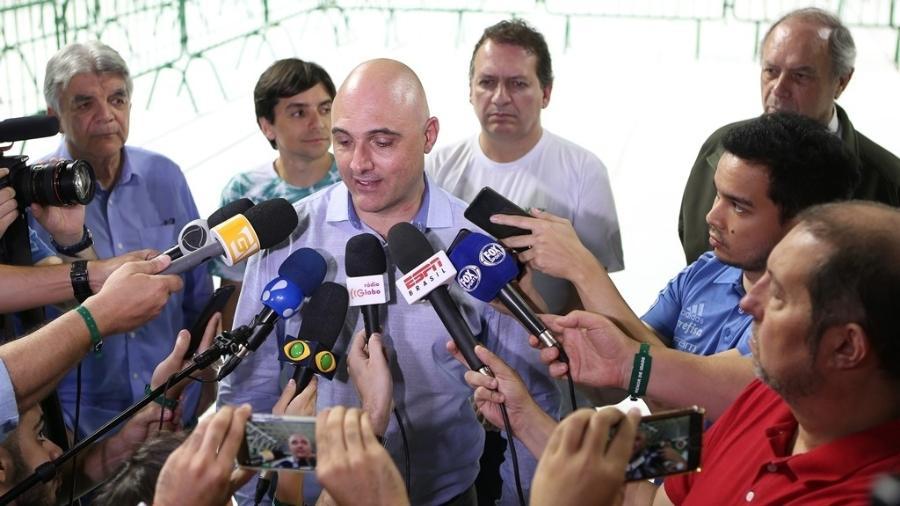 Galiotte tem reuniões diárias com seus vices para definir o futuro do Palmeiras - Cesar Greco/Ag. Palmeiras/Divulgação