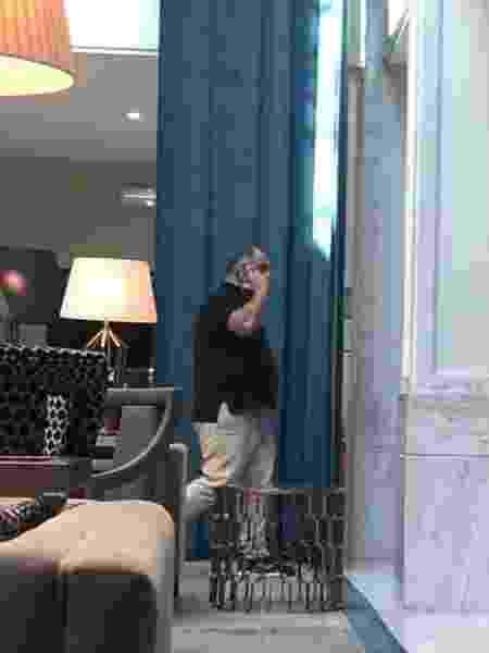 Marcos Braz, vice de futebol do Fla, está hospedado em hotel em Lisboa - UOL