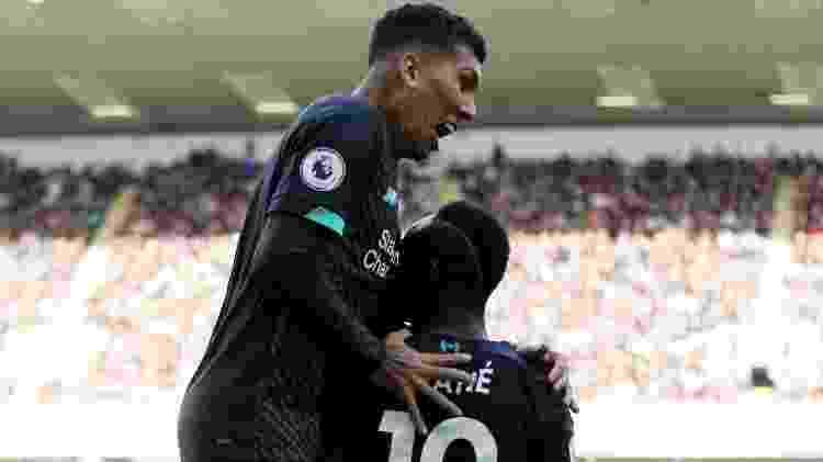 Firmino chegou a 50 gols na Premier League em jogo contra o Burnley - Reuters/Carl Recine