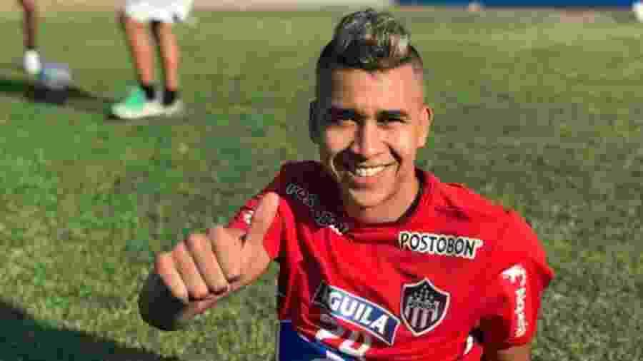 Víctor Cantillo, volante do Junior Barranquilla, assinará contrato por quatro temporadas com o clube de Parque São Jorge - Divulgação/Junior Barranquilla