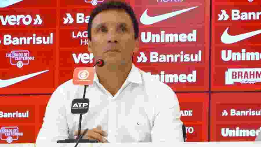 Zé Ricardo é apresentado como técnico do Internacional até o fim do ano - Marinho Saldanha/UOL