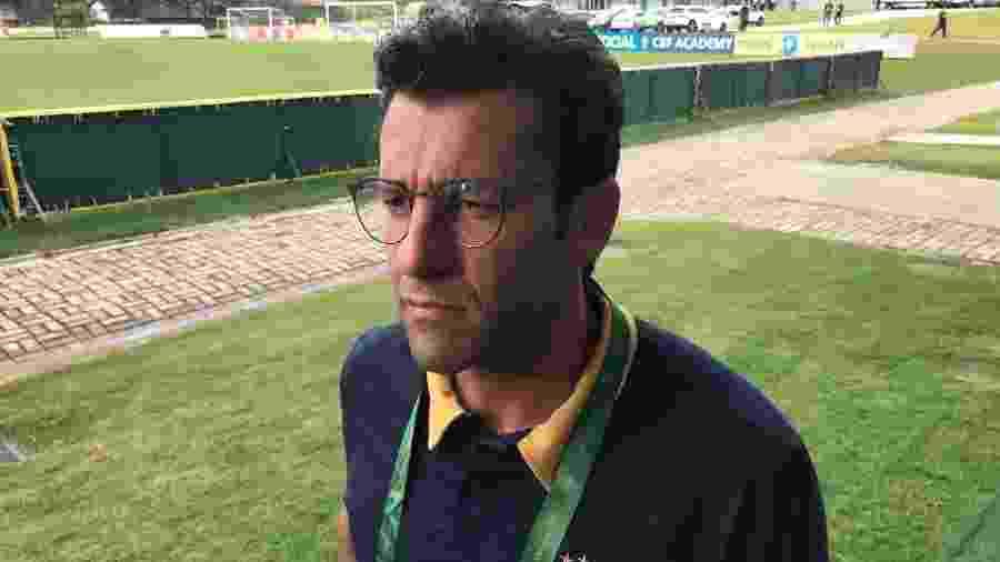 Técnico do Botafogo, Alberto Valentim, durante curso de técnico da CBF em Teresópolis - Bruno Braz/UOL