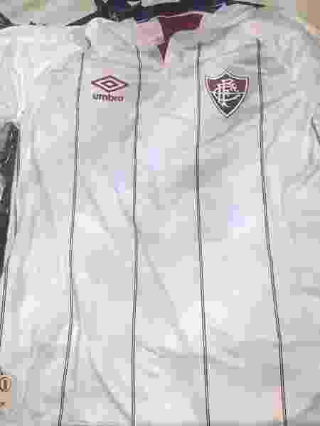 Camisa branca do Fluminense da coleção 2020 vazou na internet - Reprodução Internet