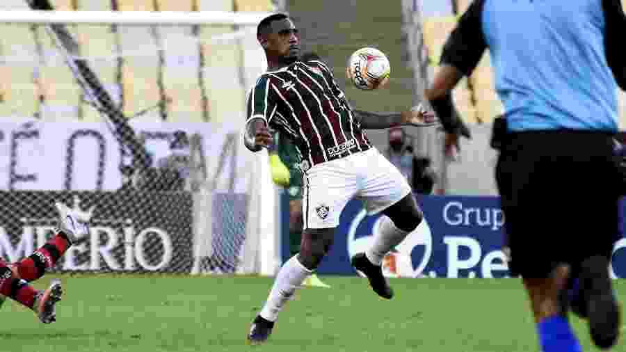 Digão sentiu dores na coxa e está fora de estreia no Brasileirão - Mailson Santana/Fluminense FC