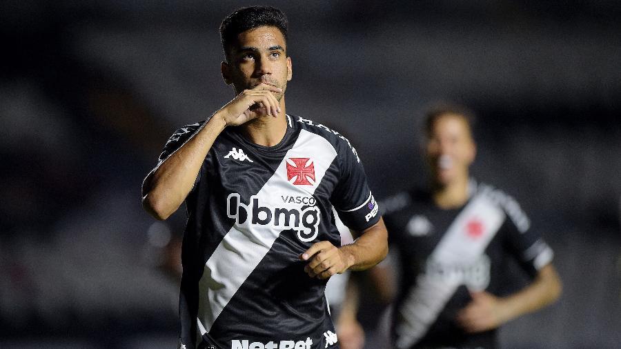 Atacante Tiago Reis fez o gol da vitória do Vasco aos 42 minutos do segundo tempo - ALEXANDRE LOUREIRO/CONMEBOL