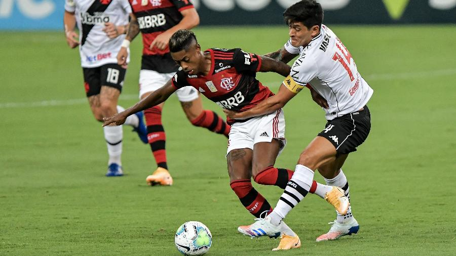 Adiamento de clássico entre Flamengo e Vasco de quarta para quinta-feira irritou o clube de São Januário - Thiago Ribeiro/AGIF