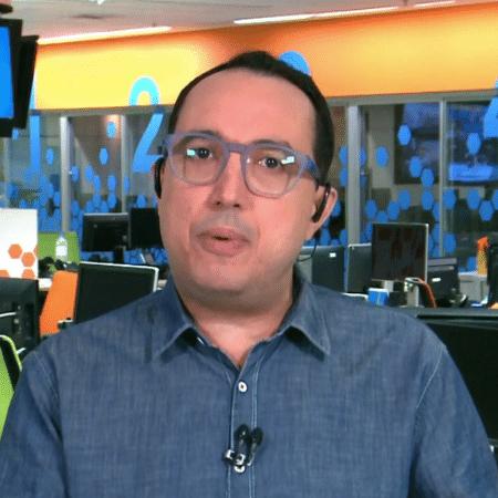 Carlos Cereto, comentarista do SporTV - Reprodução/SporTV