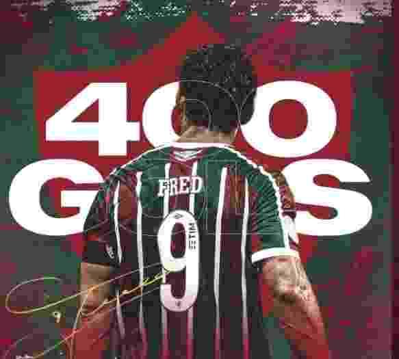 Fluminense celebra os 400 gols de Fred no Twitter - undefined