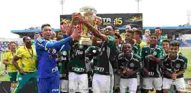 Palmeiras campeão do Paulista Sub-15 - Fabio Menotti/Ag. Palmeiras/Divulgação - Fabio Menotti/Ag. Palmeiras/Divulgação