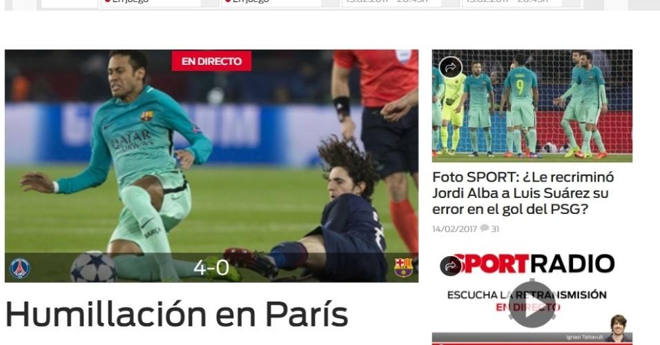 """""""Humilhação em Paris"""": jornais repercutem goleada sofrida ..."""