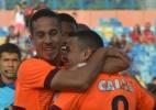 Atlético-PR faz gol no início, segura Atlético-GO e sai da zona da degola - Carlos Costa/Futura Press/Estadão Conteúdo