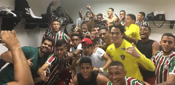 Fluminense venceu por 5 a 3, mas não pôde levantar o troféu da Taça Rio Sub-20