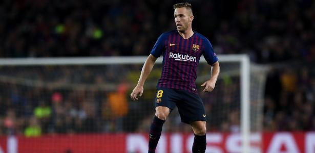 Arthur foi titular contra a Inter de Milão, pela Liga dos Campeões - David Ramos/Getty Images