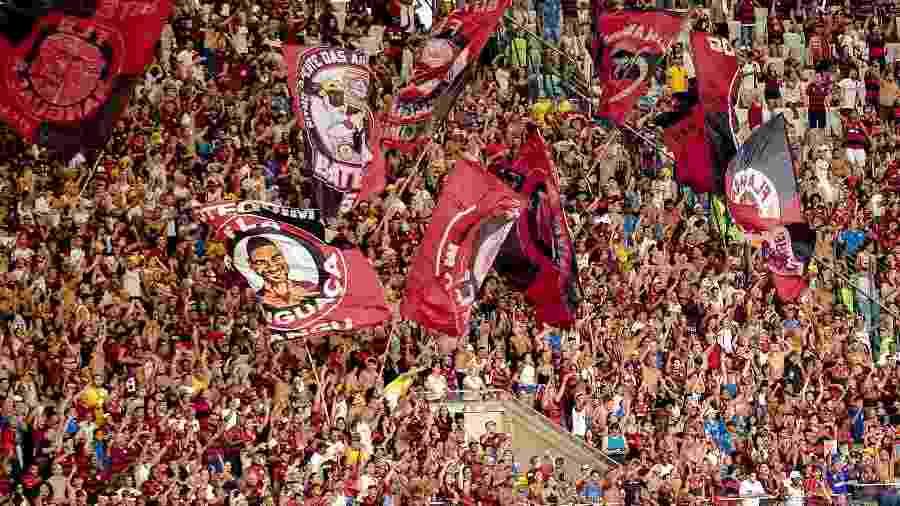 Torcida do Flamengo teve papel importante no faturamento - Alexandre Vidal/CR Flamengo