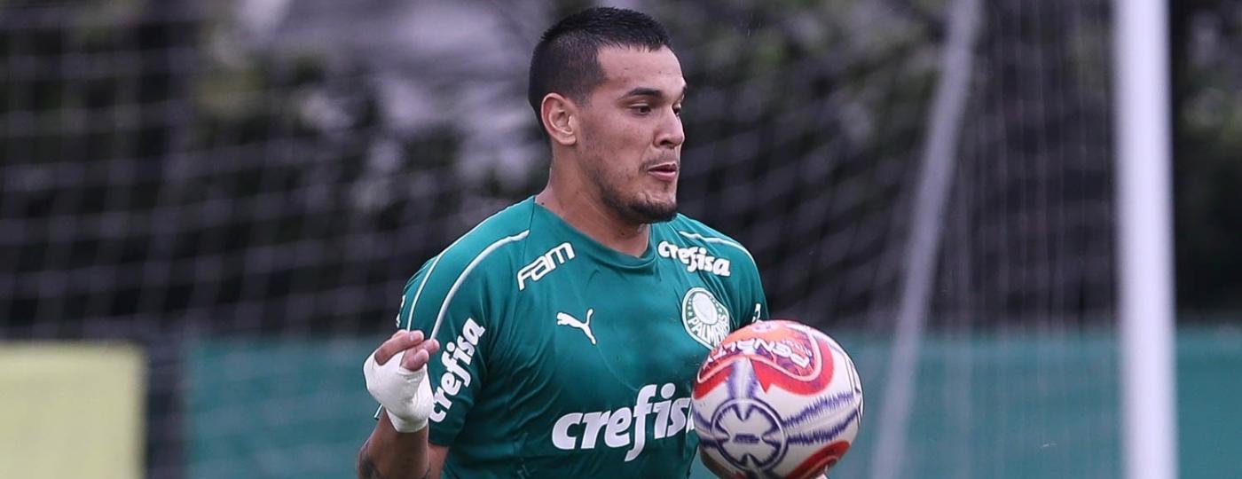 Gustavo Gómez, zagueiro do Palmeiras, recebeu sondagem de R$ 75 milhões - Cesar Greco/Ag. Palmeiras/Divulgação