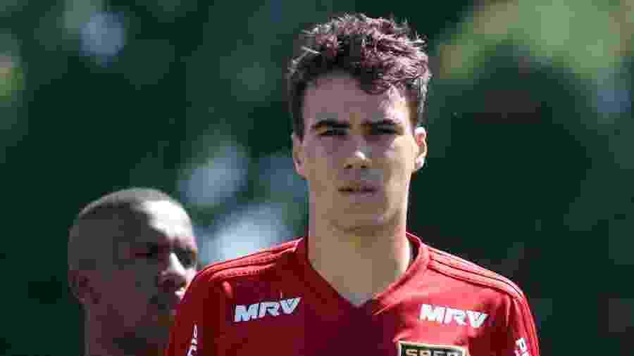 Igor Gomes foi um dos destaques do treino de finalização no Tricolor Paulista - Marcello Zambrana/AGIF