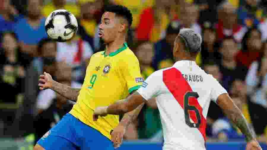 A Conmebol alterou o horário da partida entre Peru e Brasil marcada para o dia 13 de outubro em Lima - REUTERS/Luisa Gonzalez