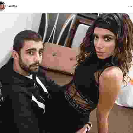 Anitta dá os parabéns a Pedro Scooby  - Reprodução/Instagram