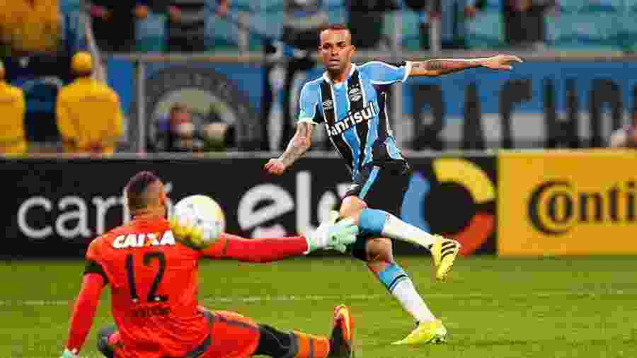 Grêmio eliminou time paranaense da Copa do Brasil em 2016 (foto) e também em 2017 - Lucas Uebel/Grêmio FBPA