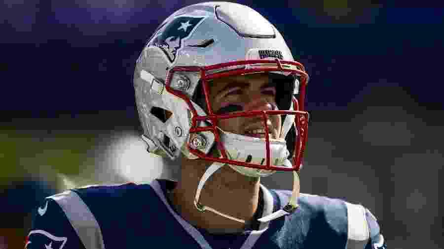 Stephen Gostkowski em ação pelo New England Patriots durante jogo contra o New York Jets - Billie Weiss/Getty Images/AFP