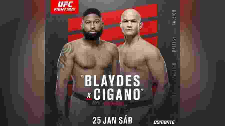 UFC Raleigh terá luta principal entre Junior Cigano e Curtis Blaydes - divulgação/UFC