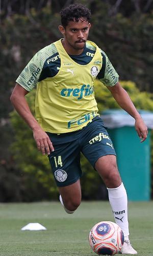 Gustavo Scarpa treinou separado do elenco de Luxemburgo no Palmeiras