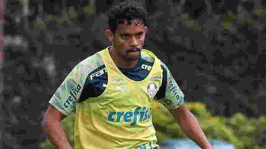 Gustavo Scarpa começa a temporada atrás dos concorrentes com Vanderlei Luxemburgo - Cesar Greco/Ag. Palmeiras