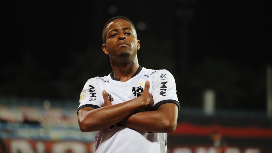 No primeiro turno, Keno roubou a cena com três gols para o Atlético-MG diante do xará - Pedro Souza/Atlético-MG