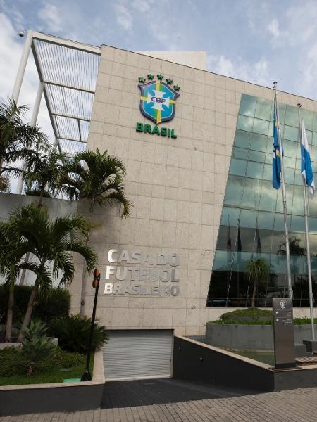 Sede da Confederação Brasileira de Futebol (CBF) no Rio de Janeiro - Lucas Figueiredo/CBF