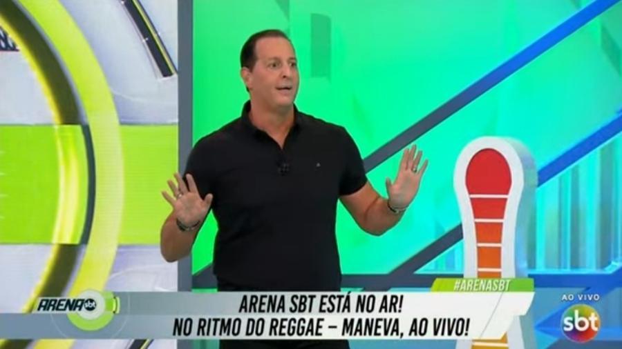 Benjamin Back dedica programa do SBT a Fernando Caeano - Reprodução/SBT