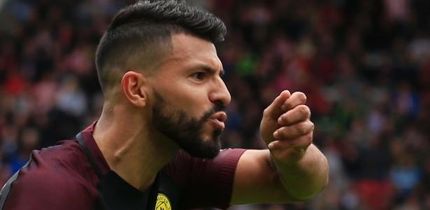Agüero foi cortado da seleção argentina