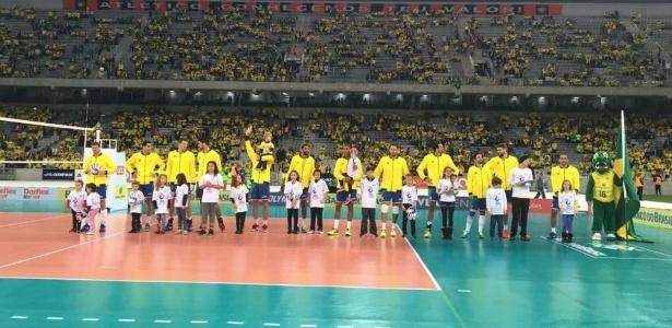Estádio recebeu partida amistosa da seleção brasileira em 2016