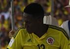 Mina sente incômodo na coxa em jogo da Colômbia e preocupa o Palmeiras - Luis Acosta/AFP