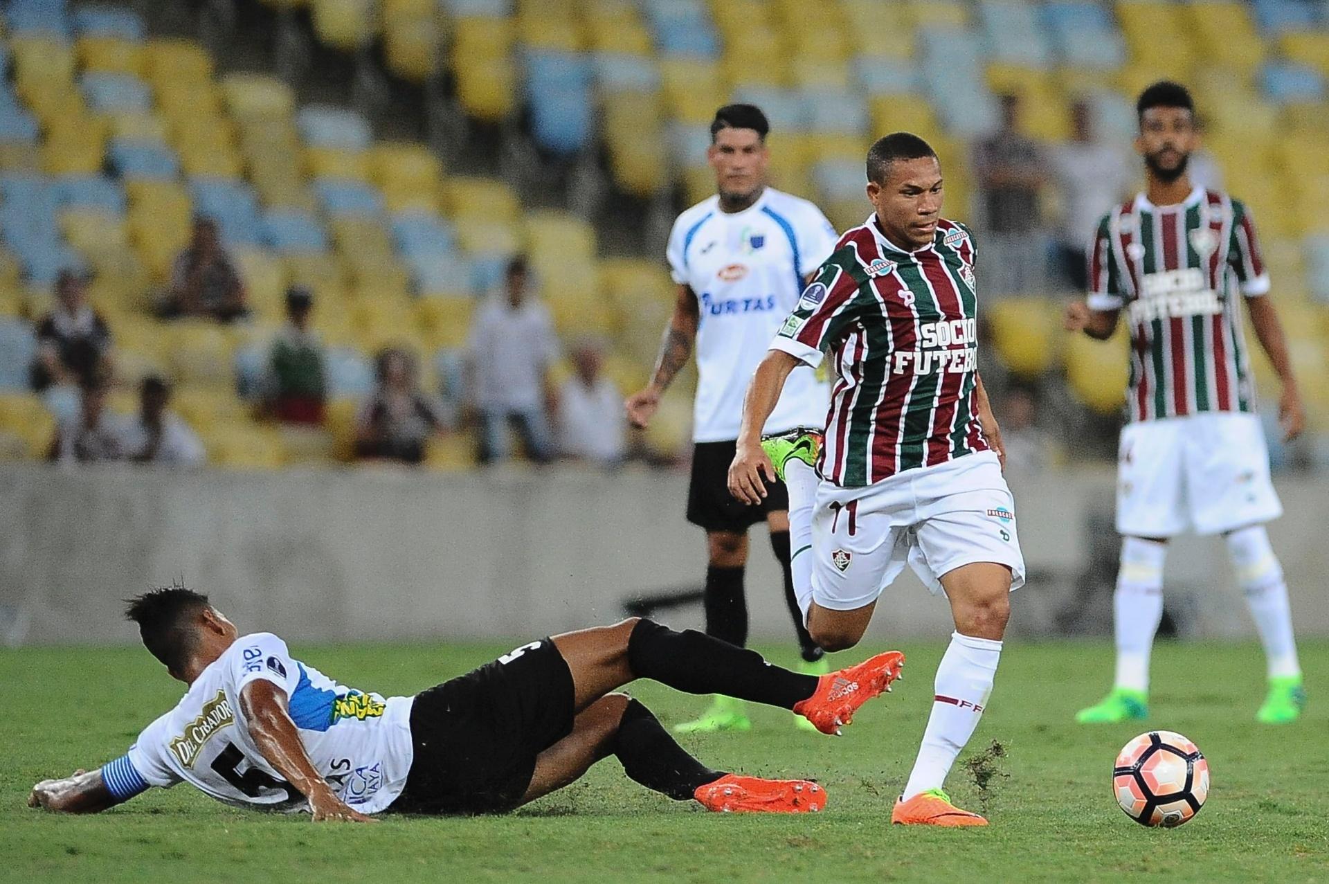 Wellington Silva celebra classificação
