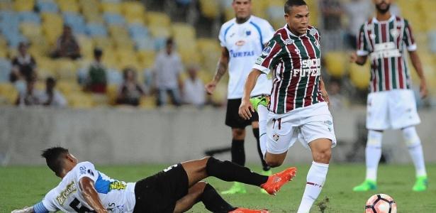 Wellington Silva voltou ao Fluminense após desistência do Bordeaux