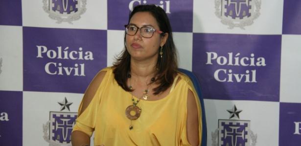 Delegada Patrícia Brito concedeu entrevista coletiva nesta segunda-feira (10)