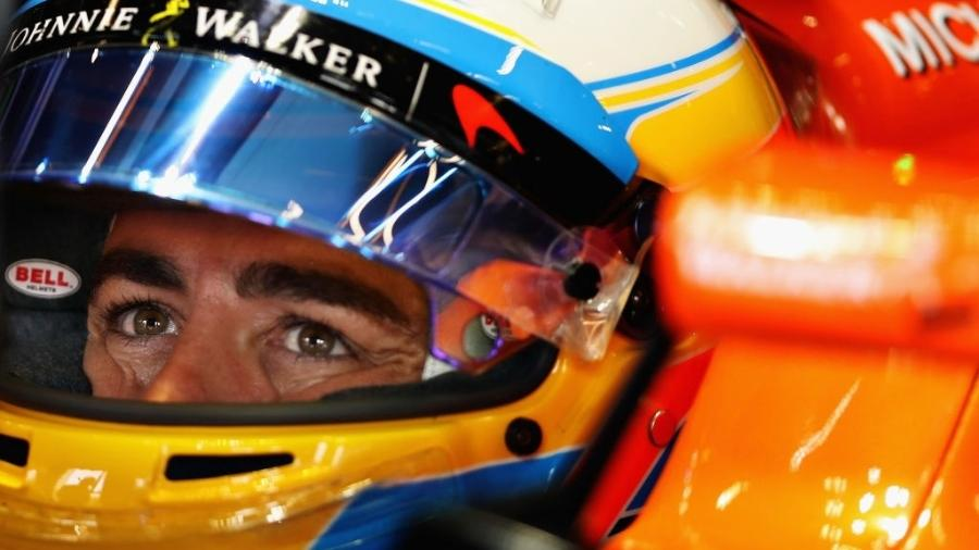 Fernando Alonso, da McLaren - Mark Thompson/Getty Images
